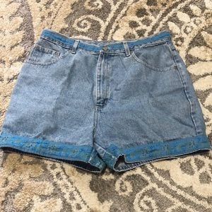 VINTAGE BILL BASS Jean Shorts